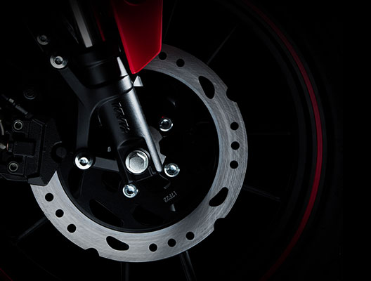 Key Features - Disc Brake System-Front / Rear