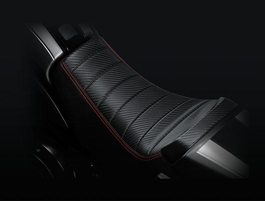 Key Features - Kevlar Seat
