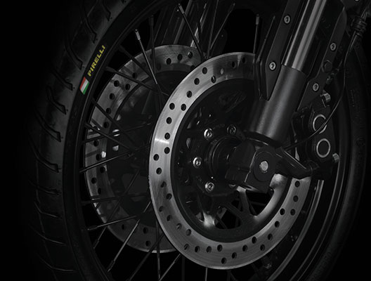 Key Features - Double Disc Brake