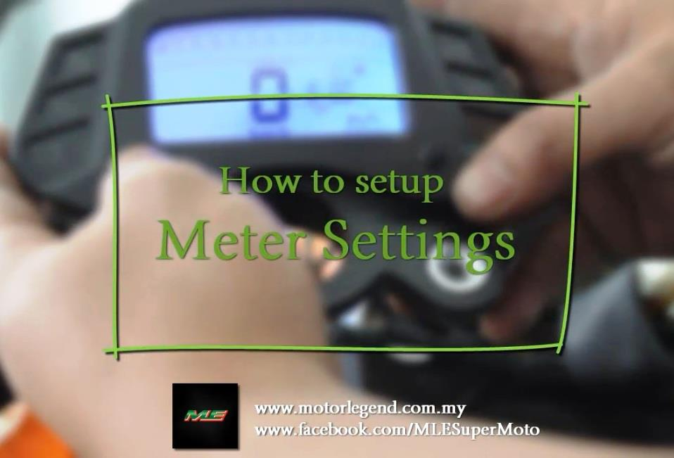Digital Meter Settings